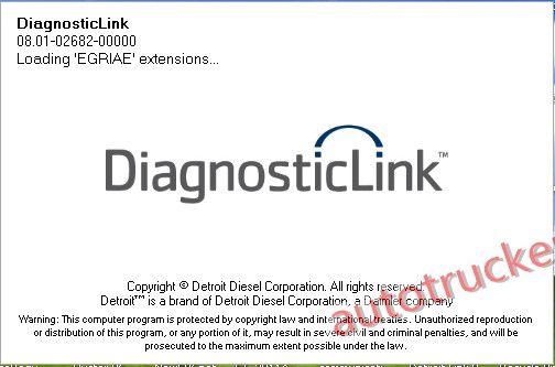 Detroit diesel diagnostic link laptop scanner tool | Diesel