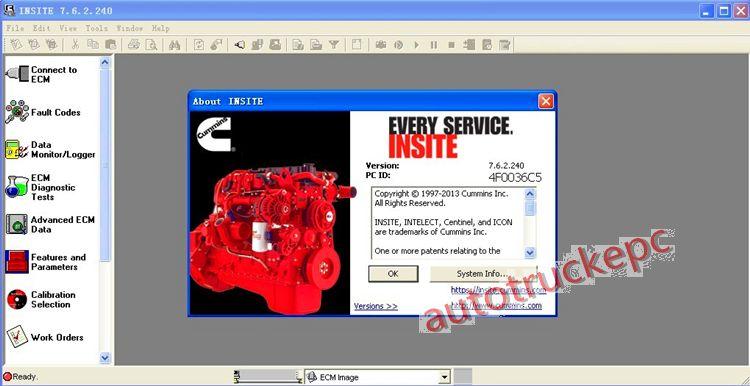 Insite V7 62 diagnostic software+unlock keygen+SP5 Update never