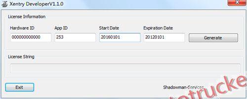 Xentry Developer keygen Diagnostic tool with software Keygen