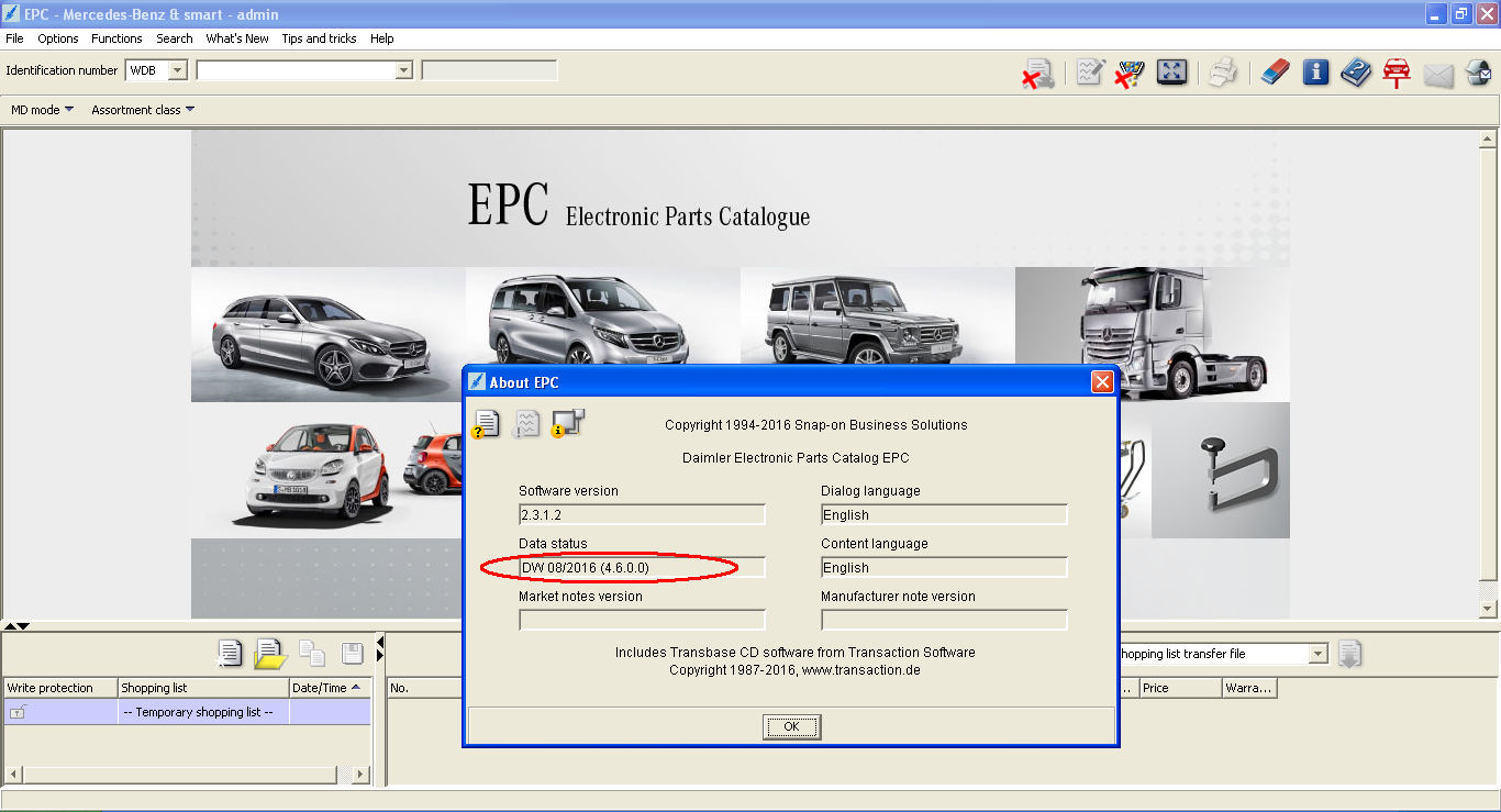 Greatwall EPC catalog 2015 version Diagnostic tool with software
