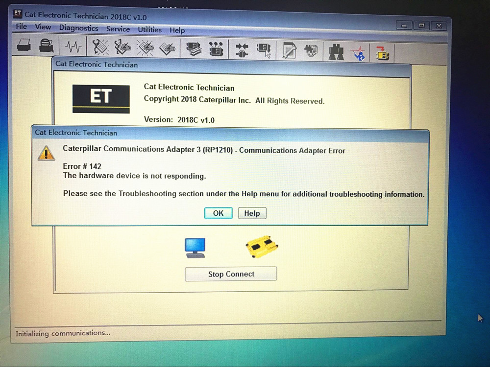 Caterpillar ET 2018C Electronic Technician Diagnostic Software[09